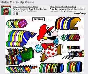 Stylizacja Mario