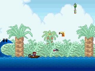 Mario Super Boat